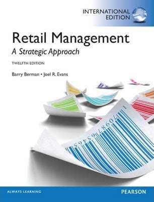 international retailing books retail management international edition barry berman