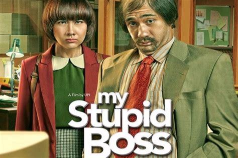 film perang komedi my stupid boss perang mental bos dan anak buah antara news