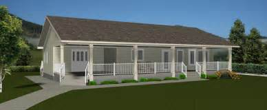 Curb Side Appeal - ranch house plans by edesignsplans ca 1