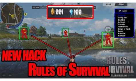 best game engine to mod free rules of survival hack cheat mod apk download for