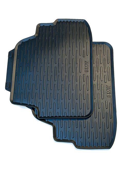 Bmw 1 Series Mats by Bmw Genuine Tailored Car Floor Mats Rubber Rear Black E88