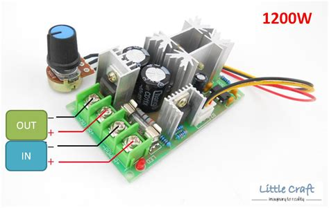 Dc Motor Speed Controller Dimmer Pwm 20a 20a dc10 60v pwm motor speed contr end 10 14 2018 10 15 pm