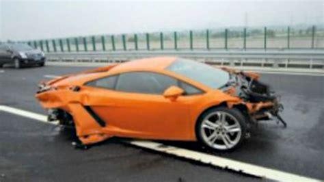 Lamborghini W Krakowie by Auto Journalist Destroys 536 000 Lamborghini In China