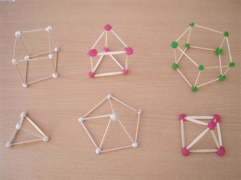 figuras geometricas hechas con palillos webdetercero cuerpos geom 201 tricos