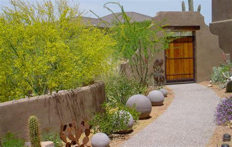 phoenix landscape design  privacy seclusion desert