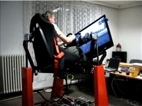 crazy racing simulator by motion sim hacked gadgets
