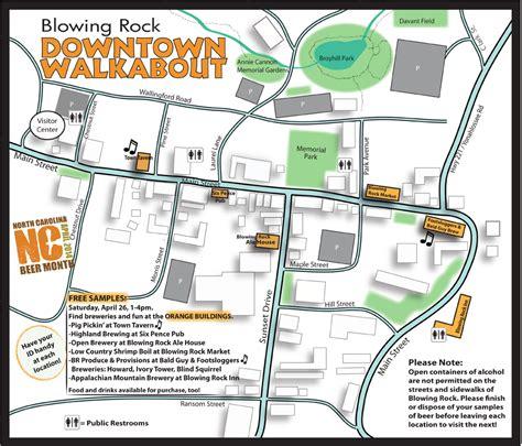 carolina brewery map blowing rock celebrates carolina month with