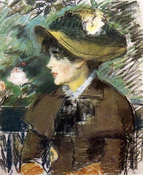 Sur Le Banc by Sur Le Banc 1879 De Edouard Manet 1832 1883