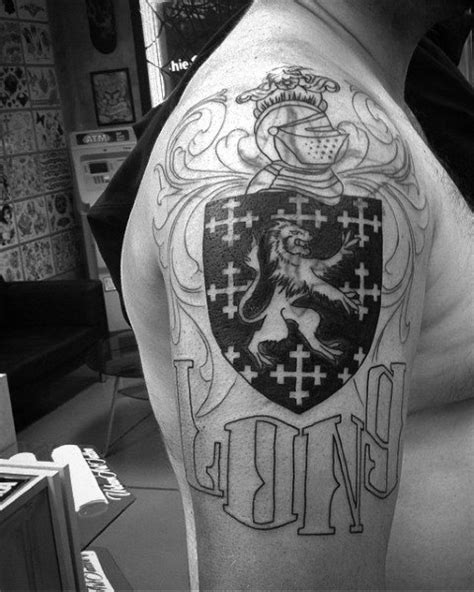 family crest tattoos for men 50 family crest tattoos for proud heritage designs