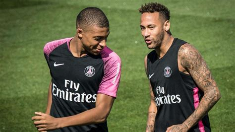kylian mbappe and neymar ligue 1 psg coach says neymar is my key player even as
