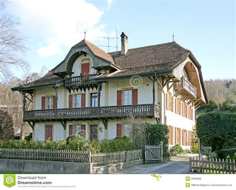 Bungalow Style House Plans old swiss house 13 royalty free stock image image 2090686