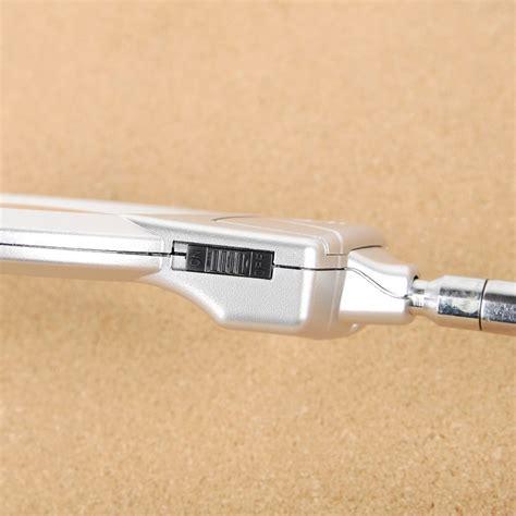 Lu Meja Portable Dengan Kaca Pembesar lu meja portable dengan kaca pembesar silver jakartanotebook