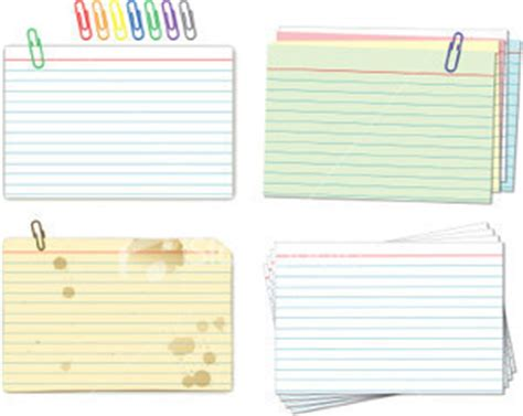 Mead Ruled Index Cards Template by Image Gallery Index Card Sizes