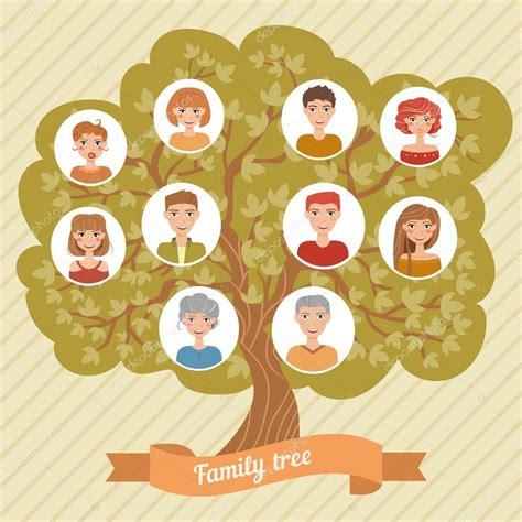 Family Tree Stock Vector 169 Annaviolet 84295218 Family Tree Genealogy Vector Stock