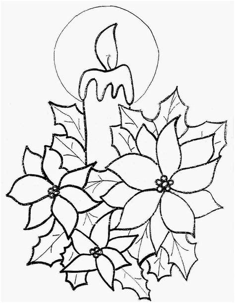 imagenes velas navideñas para colorear dibujos para colorear de velas de navidad trato o truco