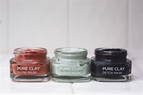 Www Radiant Detox by New L Oreal Clay Masks Ms Rosie Bea