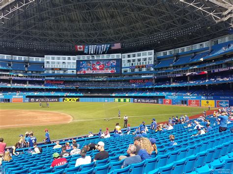 rogers centre section 119 rogers centre section 116 toronto blue jays