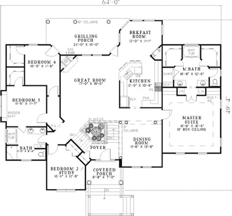 Split Entry House Plans - 4 level split house floor plans