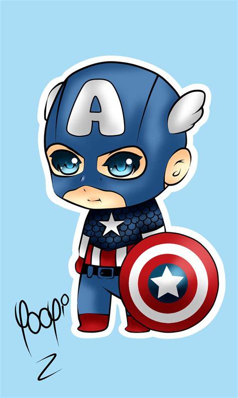 captain america chibi wallpaper captain america chibi fanart by yooyi san on deviantart