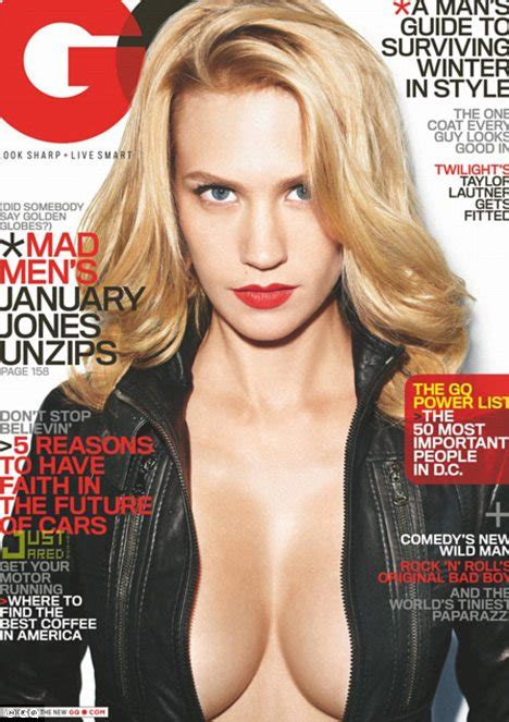 january jones page interview magazine mad men star january jones gets unzipped on the cover of