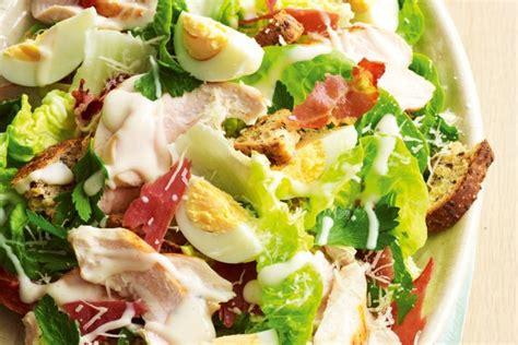 Unique Fruit Bowl chicken caesar salad