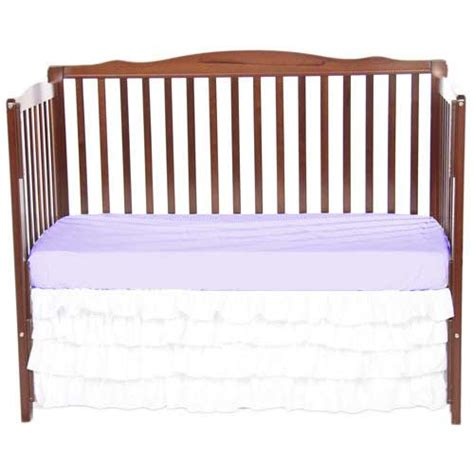 Dust Ruffles For Cribs by Tiered Crib Dust Ruffle Crib Skirts Ababy