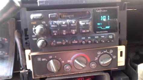 radio replacement    chevrolet gmc youtube