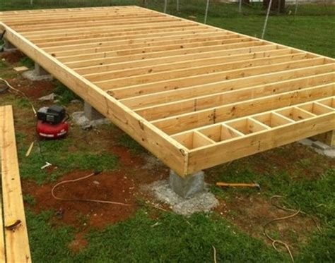 How To Build Wooden Garage by Plans How To Build Wood Joist Floor For House Barn Shed