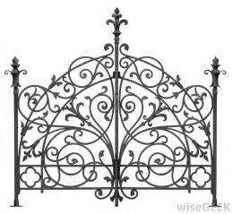 what are the different styles of wrought iron design