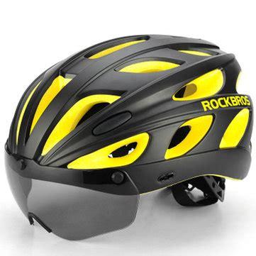 magnetic helmet gear design rockbros bike magnetic helmet sunglasses bicycle helmet
