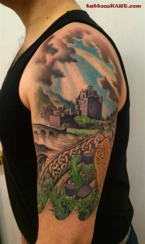 scottish half sleeve tattoo designs 17 images about scottish celtic tattoos i like on