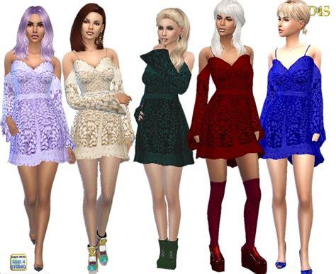 3d Flow Skirt Fashiongrosirmurah Nz90135 lookbook fashion downloads at dreaming 4 sims 187 sims 4 updates
