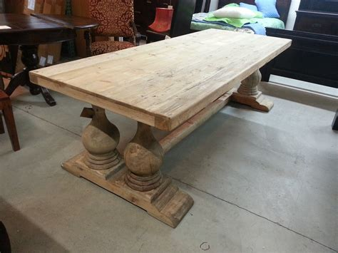 unfinished dining room tables reclaimed wood unfinished dining table home ideas