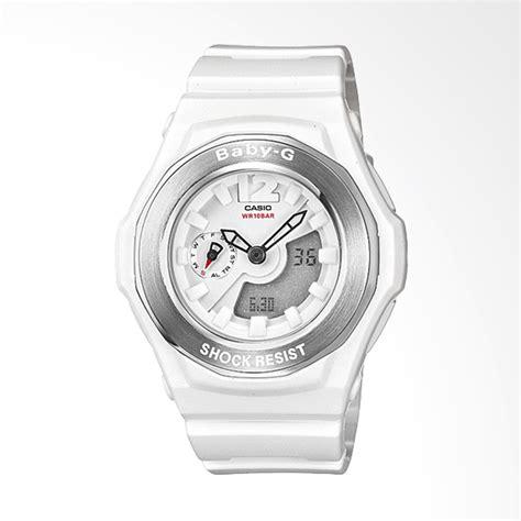 Baby G Syahrini Jam Tangan Sport Wanita Water Resist Kw 3 jual casio baby g bga 140 7bdr analog digital neobrite multifunction jam tangan wanita putih