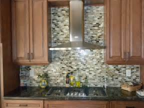 mosaic backsplash kitchen glass tile application pics glasstilewarehouse