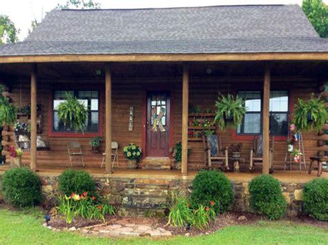 log cabin porch dreams decor pinterest country living readers porch photos best porch