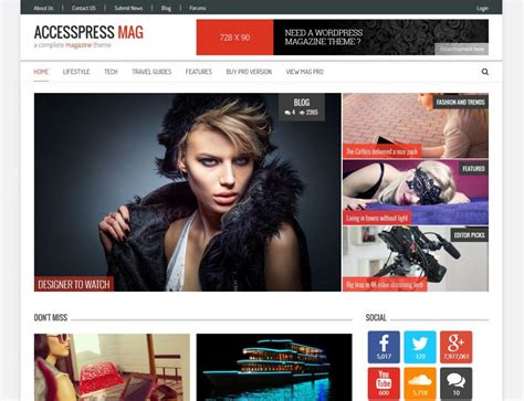 blogger magazine themes 2015 21 best free responsive magazine wordpress themes 2018