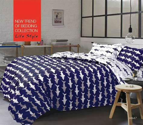 Shark Comforter by Get Cheap Shark Bedding Set Aliexpress