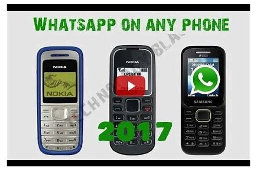download whatsapp for old samsung phones