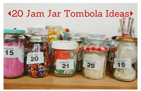 jam jar tombola ideas vicky myers creations