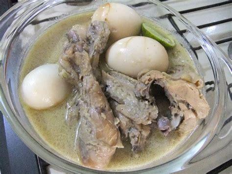 menu membuat opor ayam aneka menu makanan hidangan favorit lebaran idul fitri