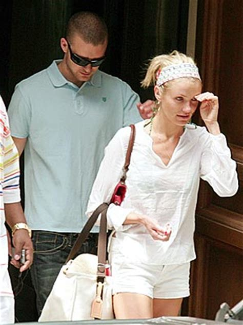 Cameron Diaz Gives Drew Barrymore Justin Timberlakes by Tracks Wednesday July 5 2006