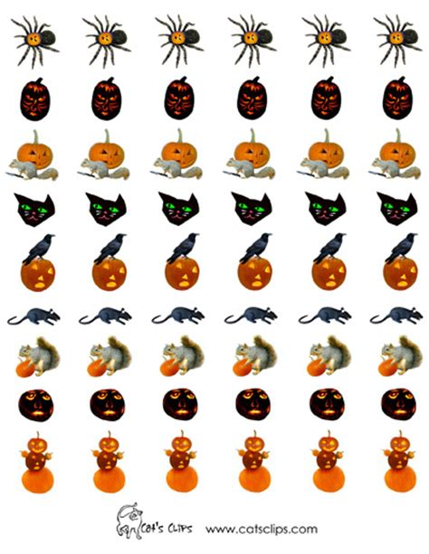 printable stickers for halloween free printable stickers