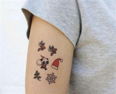 imagenes de tatuajes temporales tatuajes de navidad fotos de los tatuajes foto ella hoy