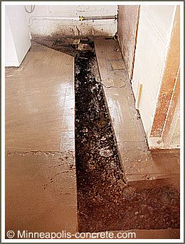 Cutting Basement Floor For Plumbing by Cutting Concrete And Concrete Drilling