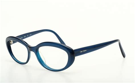 smaller chic eyeglasses in blue by