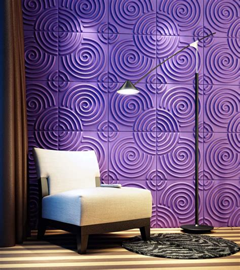 wall decor for purple bedroom purple 3d board wall decor living room newhouseofart com