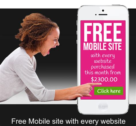 free mobile site free mobile site with every website hotpink websites