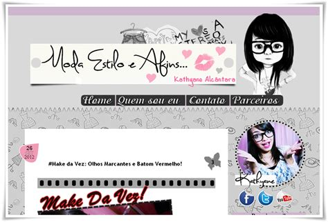 layout blog moda laysa layout blog moda estilo e afins entregue