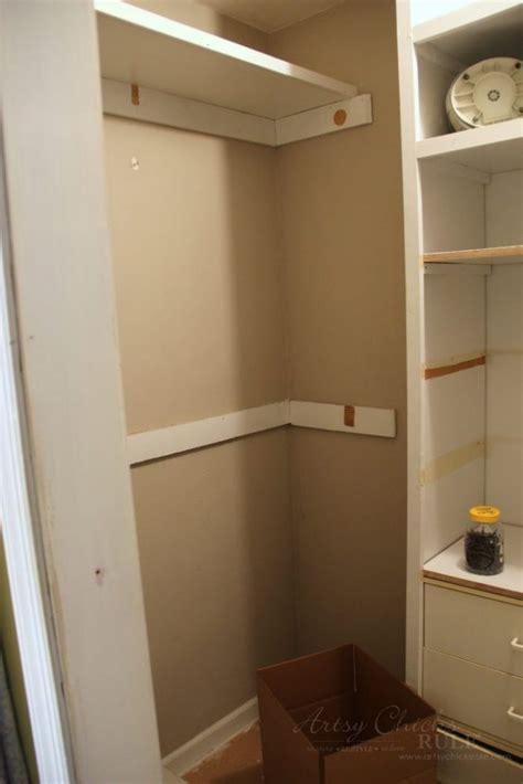 closet renovation linen closet renovation with